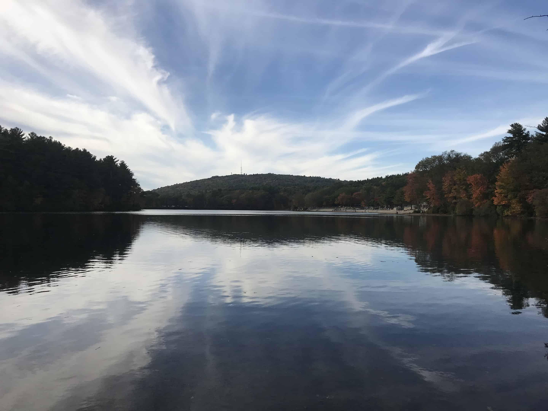 #OptOutside at Houghton's Pond