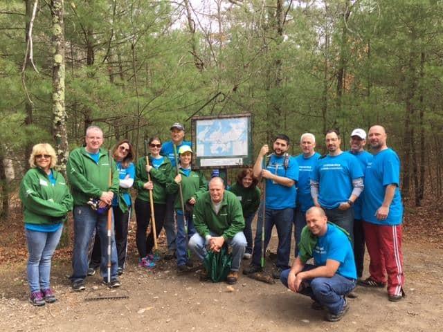 Park Serve Day in Blue Hills Reservation
