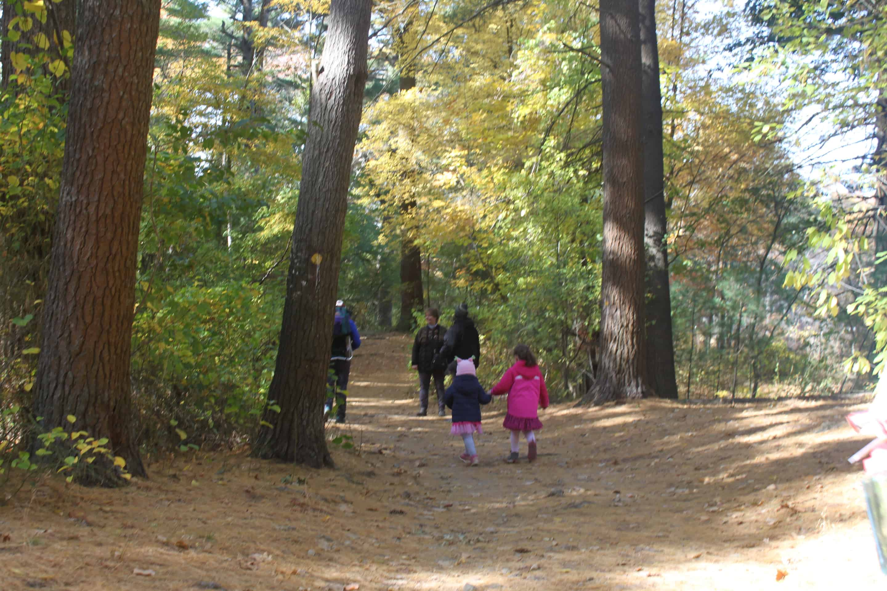 Peek a Blue Hikes for You and Your Tots