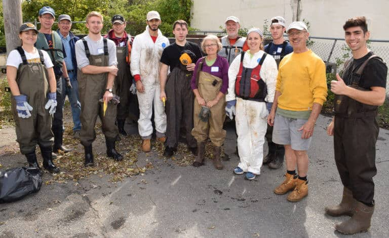 Neponset River Clean Up