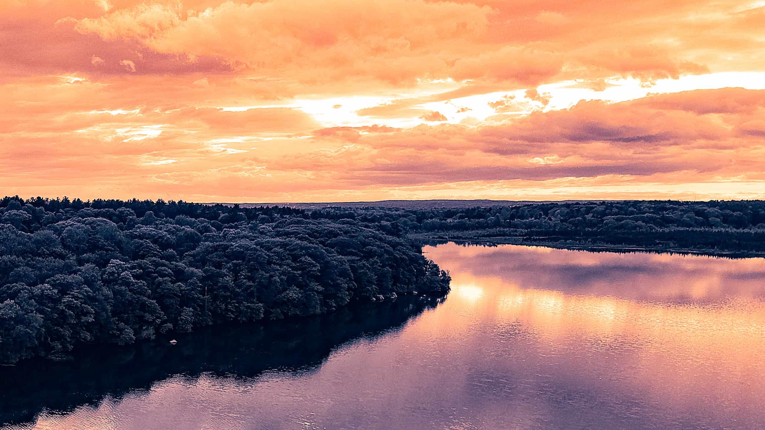 ponkapoag pink sky