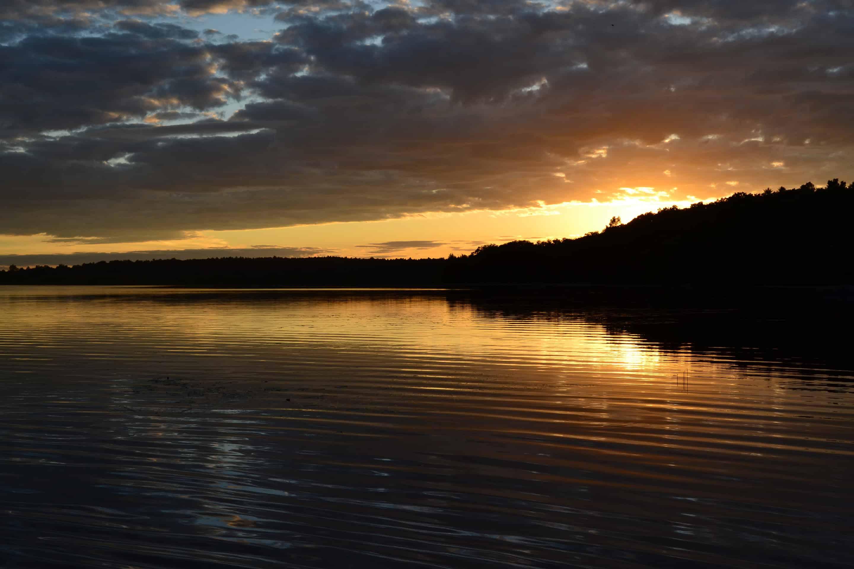 ponkapoag sunset
