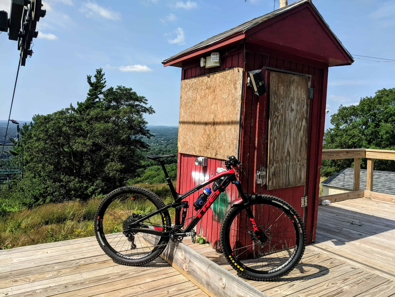 summer mountain biking