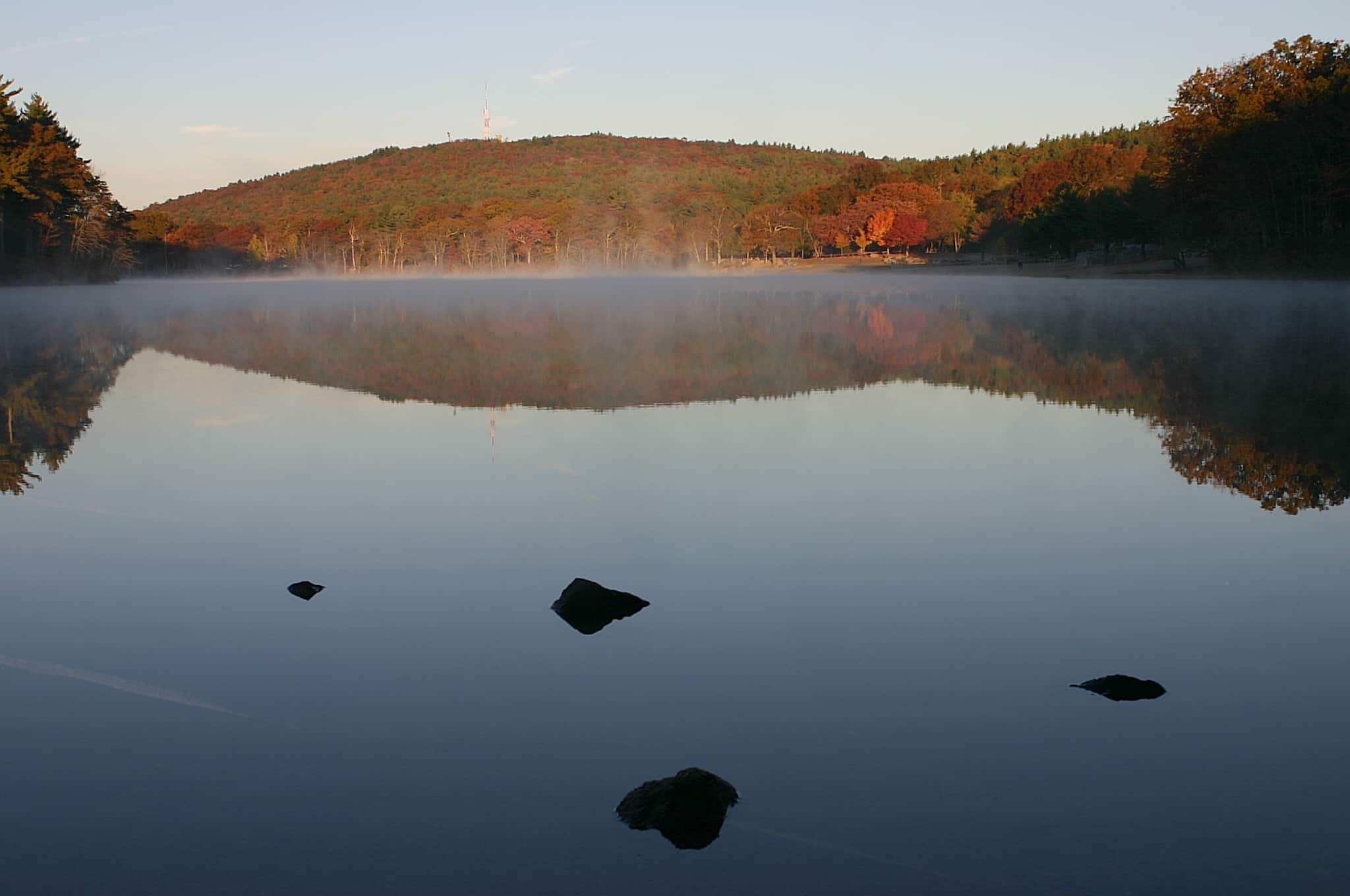 houghton s pond fall
