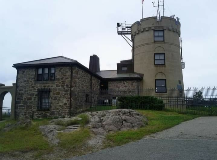 weather observation tower