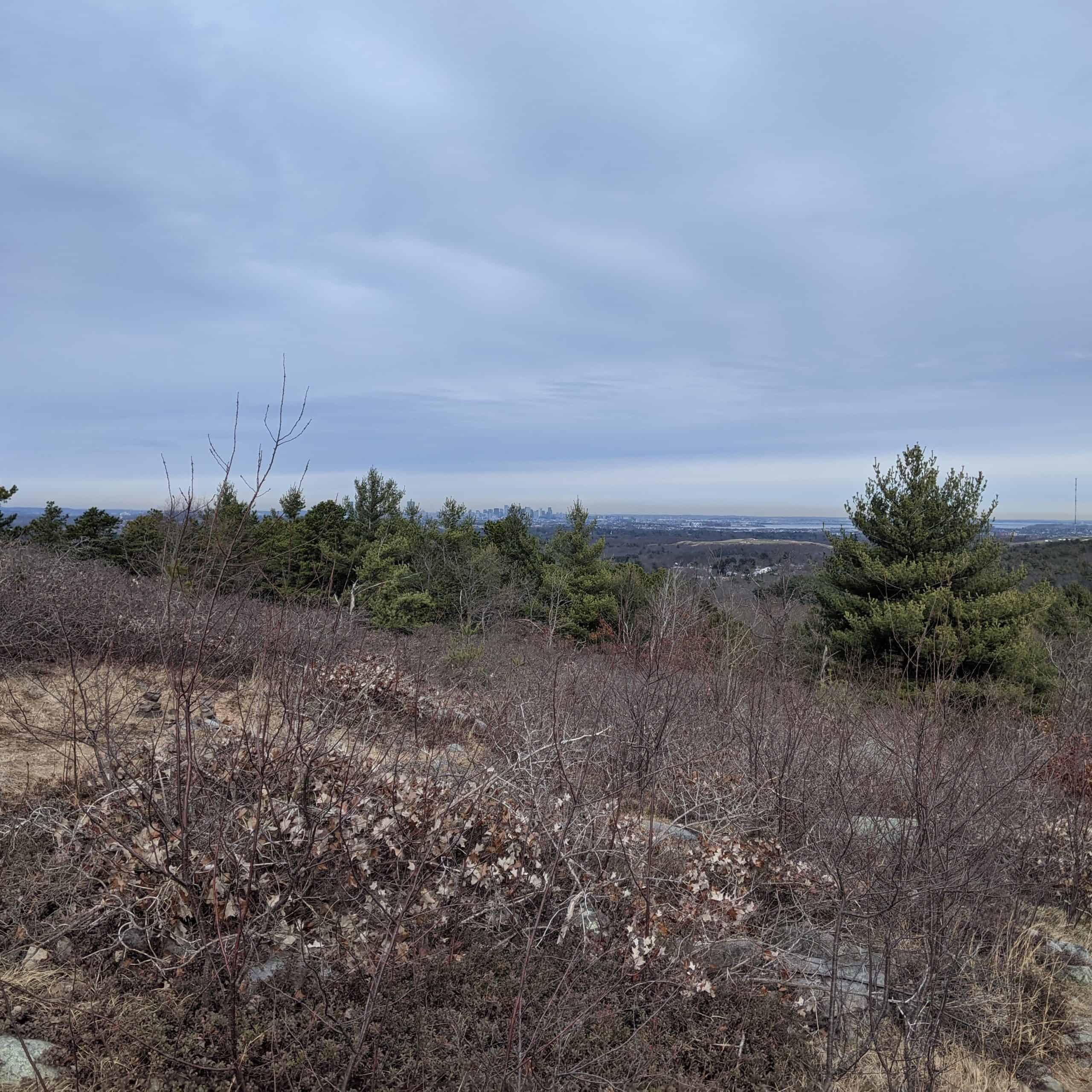 blue hills on december 30 2020