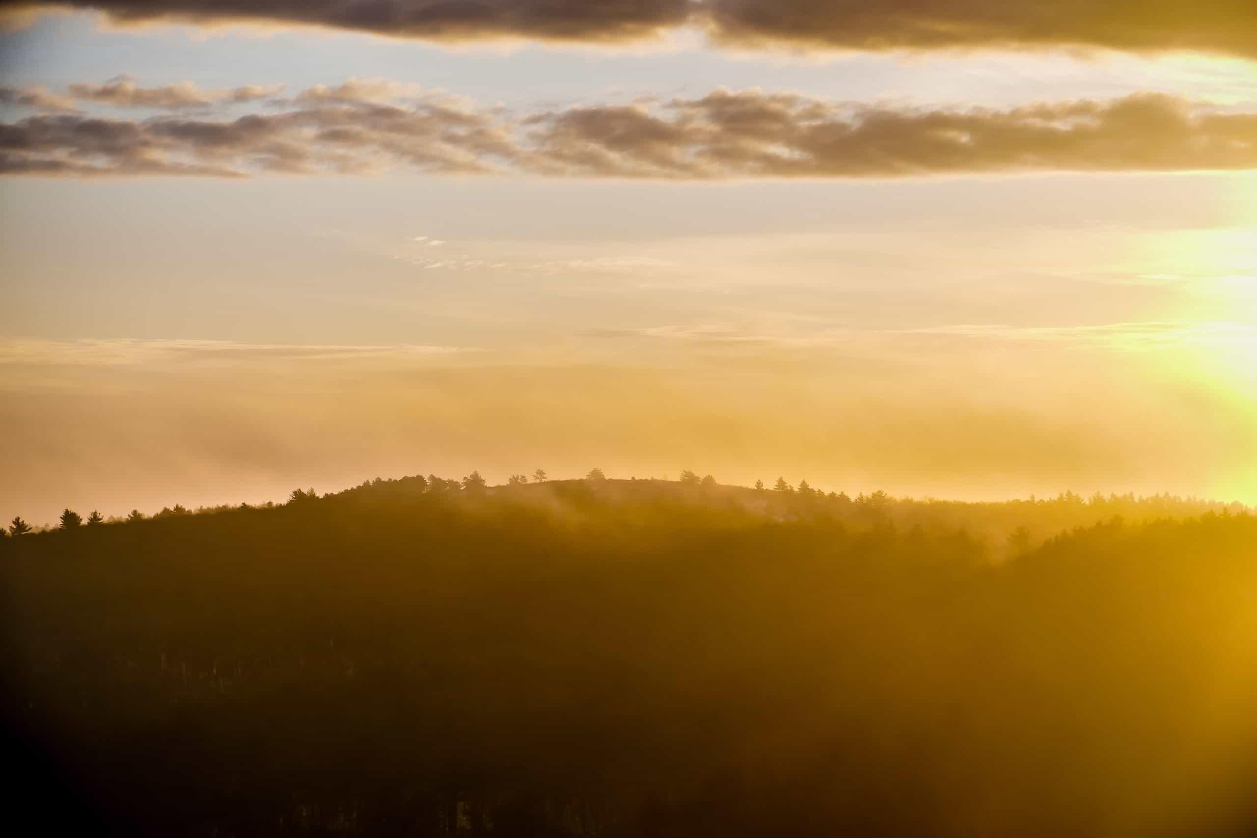 sunrise at hancock hill