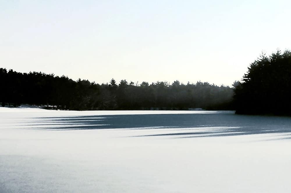 winter morning at hoosicwhissick
